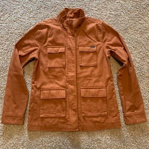 RVCA Women's Military Jacket Medium LIKE NEW